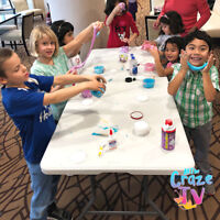 Face Painting, Balloon Animals, Slime Parties & Decor