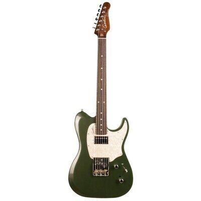 Godin Stadium 59 Desert Verde Rn Guitarra Eléctrica Bolsa Incluida