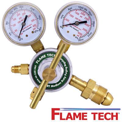 Flame Technologies Mdr-in-350-580 Mid Pressure Regulator - Nitrogen Argon