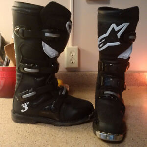Alpinestars - Tech 3 - All-terrain - MX Boots - Size 8 US/ 42 EU
