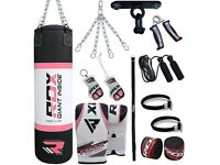 RDX X2 13PC PUNCH BAG BOXING SET, new in box