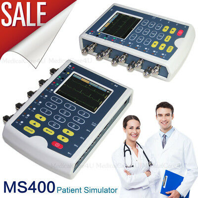 Ms400 Multiparameter Patient Simulator Touch Ecg Simulator Resp Temp Ibp Ecgusa