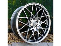 "19"" Roti BB5 on tyres for a Golf MK5 MK6 MK7 Jetta Caddy ETC"