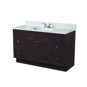 VANITY, COUNTER TOP AND TAPS - BRAND NEW