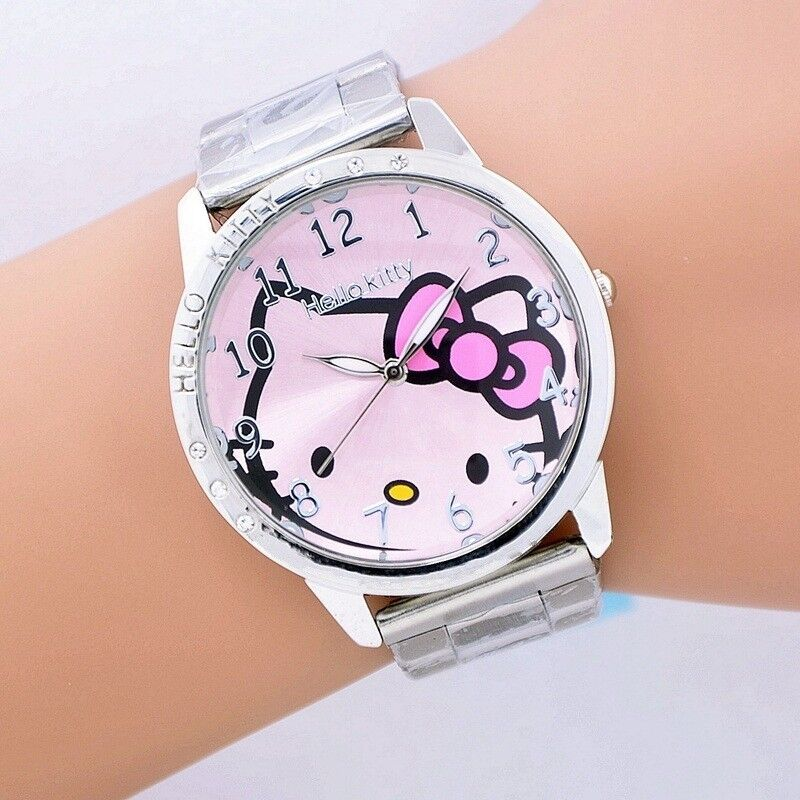 Details About Womens Watch Hello Kitty Ladies Watches Fashion Design Best Gift Free Shipping