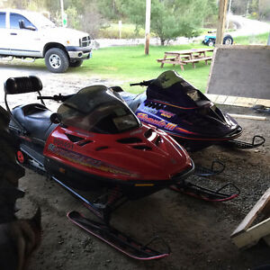trade Ski-doo and Honda quad