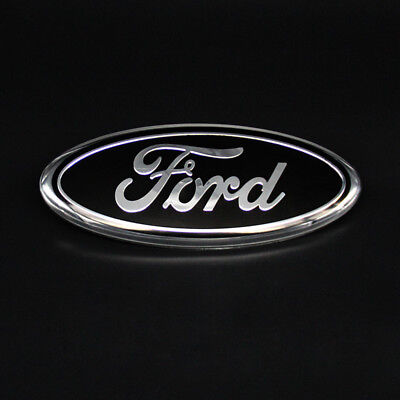 "Black FOR FORD F150 F250 F350 Explorer Edge 9""Front Grille Tailgate Emblem Badge, used for sale  Walnut"