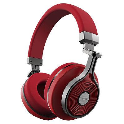 NEW Bluedio T3(Turbine 3rd) Bluetooth4.1 Stereo Headsets Wireless Headphones Red
