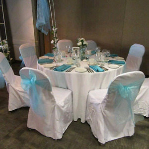 Banquet/wedding chair covers $180 for 100