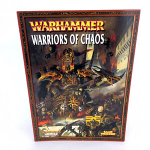Warhammer 40K Warriors Of Chaos Armies Book 2008 Games Workshop