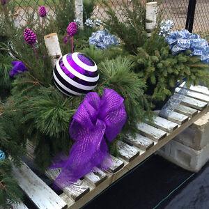 Fresh Cut Christmas trees, Wreaths, Urns & Garland Kitchener / Waterloo Kitchener Area image 4