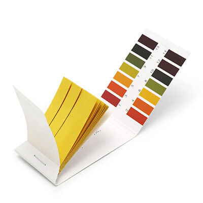 80 Ph 1-14 Universal Full Range Litmus Test Paper Strips Tester Indicator Urine