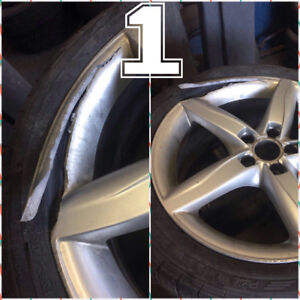 SUPER SPECIAL-SAVE 15% on your DAMAGED WHEEL/RIM REPAIR!!!!!!