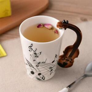 Novelty Guitar Ceramic Cup  (Free Shipping )