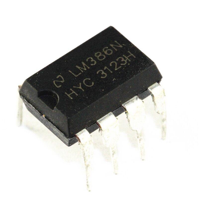 20 PCS LM386 LM386N DIP-8 Audio Power AMPLIFIER IC NEW