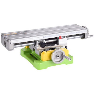Mini Diy Cross Working Slide Compound Table Worktable For Drill Milling Machine
