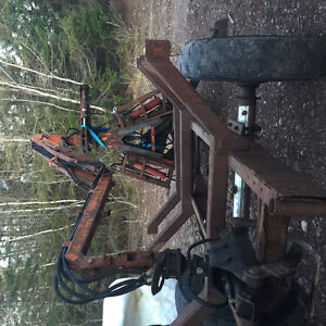 Log trailer and 4wd tractor looking for logging jobs