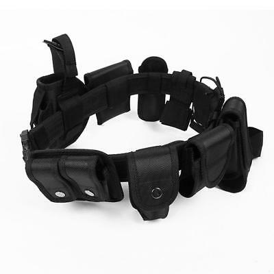 "Police Guard Security Duty Belt Tactical 600 Nylon Enforcement 45"" Equipment"