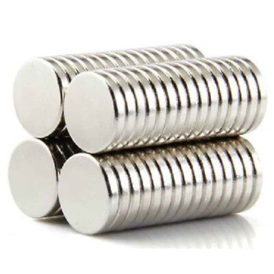 Super Strong Round Disc Magnets 100pcs Rare-earth Neodymium Cylinder Magnet Set