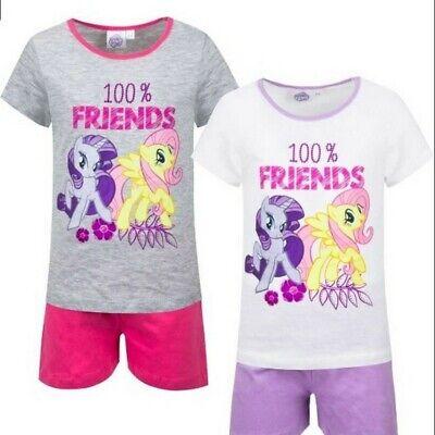 my little Pony Schlafanzug Pyjama T-Shirt & Short 98 104 116 128 Baumwolle  ()