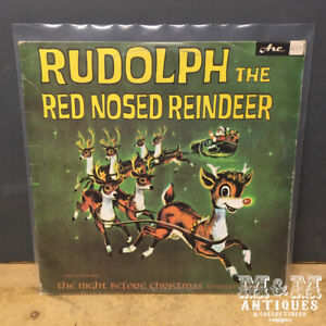 Vinyl Record - Rudolph the Red-Nosed Reindeer - LP 1976