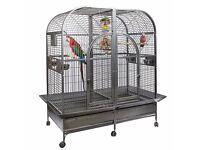 Rainforest castello double parrot cage