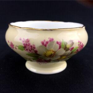 Bone China Sugar Bowl & Vase (Made In England)