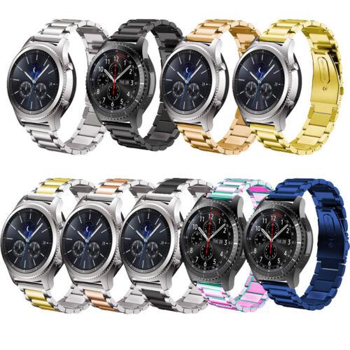 For Samsung Galaxy Watch 42/46mm Gear S3 Stainless Steel Str