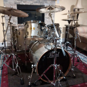 Mint Pearl Vision All-Maple Drums For Sale