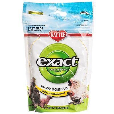 Kaytee Exact Hand Feeding Formula 7.5 oz for All Baby Birds (Free Shipping in US Exact Hand Feeding Formula