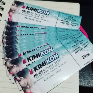 KimiKon Weekend Pass Oct 19-21/ 2018