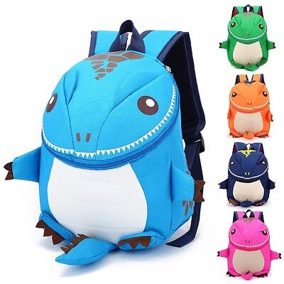 RAWRR! 3D Toddler/Youth Dinosaur Backpack!  Blue, green, pink, orange and navy.