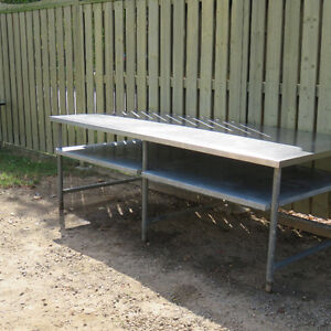4 x 8 Stainless Steel Table