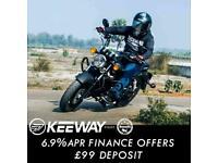Keeway Superlight 125cc LTD Custom Cruiser Chopper Retro Classic Motorcycle
