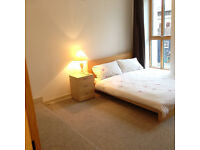 Double en-suite room to rent in newly refurbished 2 bedroom flat in the city centre