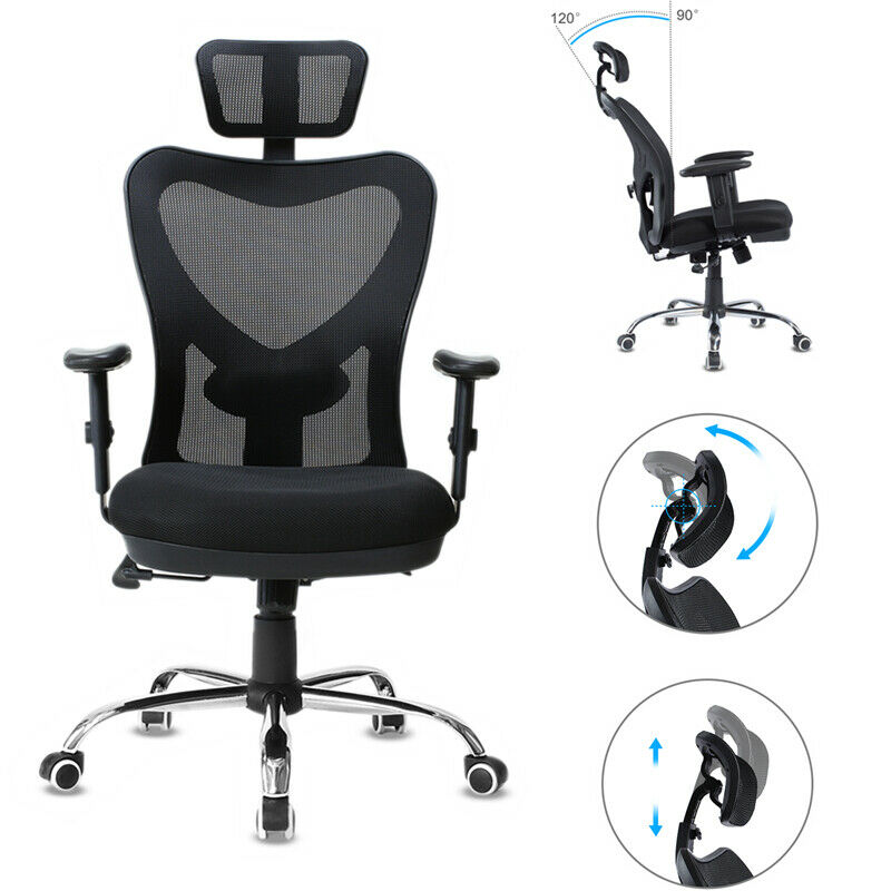 Astounding Details About Ergonomic Mesh Office Chair Computer Desk Task Executive Chair Lumbar Support Us Dailytribune Chair Design For Home Dailytribuneorg