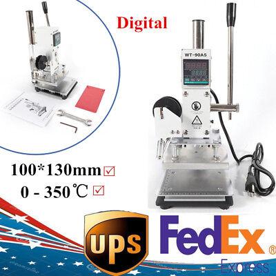 1013cm Hot Foil Stamping Machine Stamper Bronzing Pvc Card Foil Logo Embossing