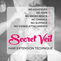 Hair Extensions - Introducing Brand New Method to Grande Prairie