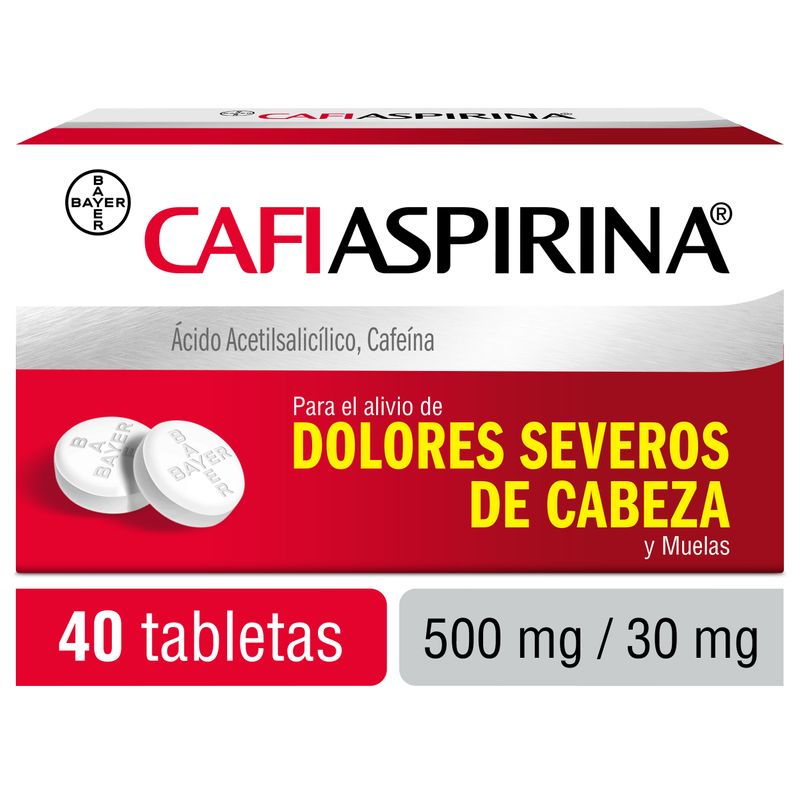 Cafiaspirina - dolor de cabeza / headache - 40 tablets   Autenthic!