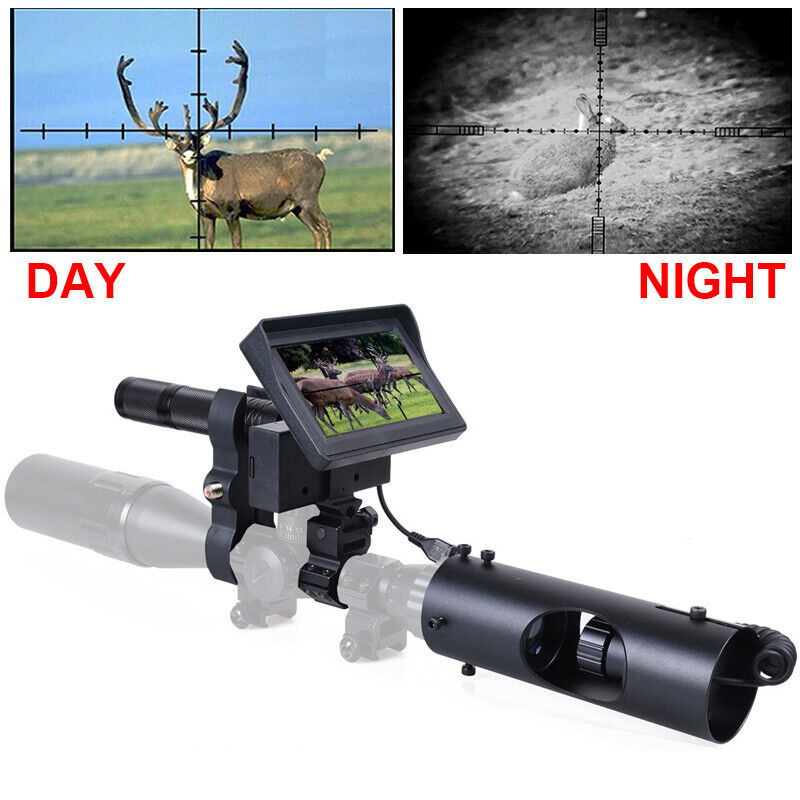 Hunting Night Vision for Rifle Scope Camera 850NM Infrared L
