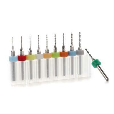 10pcs Carbide End Mill 0.5-1.4mm Pcb Cutter Shank 3.175mm Cnc Engraving Bit Tool