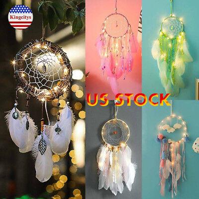 Light Up Dream Catcher Led String Lights Hanging Fashion Home Christmas Decor (Led Hanging Lights)