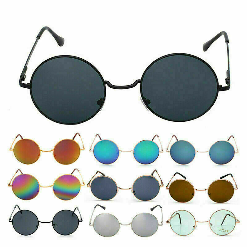 Vintage Retro Sonnenbrille Rundbrille John Lennon 70er Hippie Kult Ozzy Osbourne