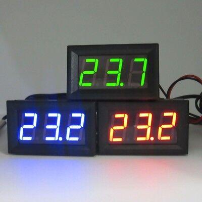 -50 110 C Dc 12v Digital Led Thermometer Car Temperature Monitor Panel Meter