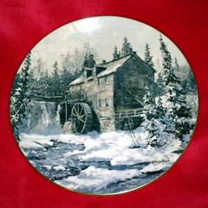 """Sawmill King's Landing"" Collector Plate"