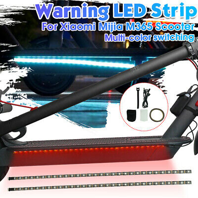 Warning Light LED Strip Light Bar Lamp For Xiaomi Mijia M365 Electric Scooter