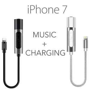 iPhone 7 & 7 Plus Lightning to Headphone Charger Adapter