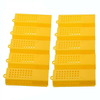 10pcs Extended Queenbee Butler Cage Catcher Trap Case Plastic Beekeeping Tools