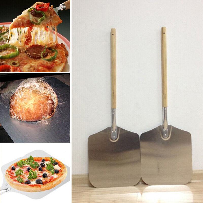 58cm Aluminum Pizza Spatula Peel Shovel Tool  Cake Lifter Pl