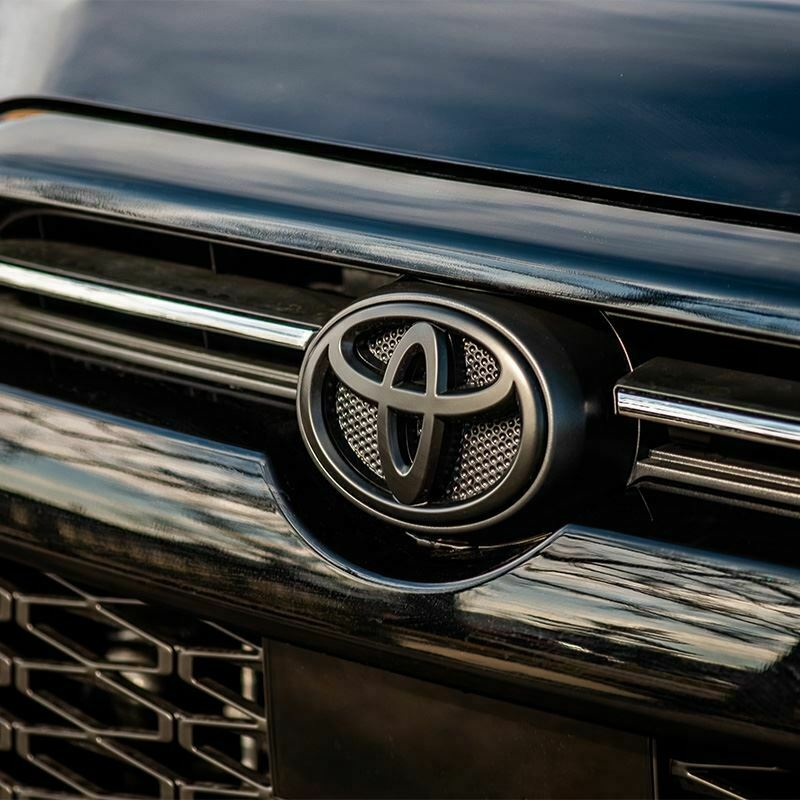 made from Durable ABS Plastic by Alpha Prime Marketplace Blackout Emblem Overlay Compatible with Toyota 4RUNNER 2014-2020 Fits V6 LIMITED SR5 TRD OFF ROAD 4x4